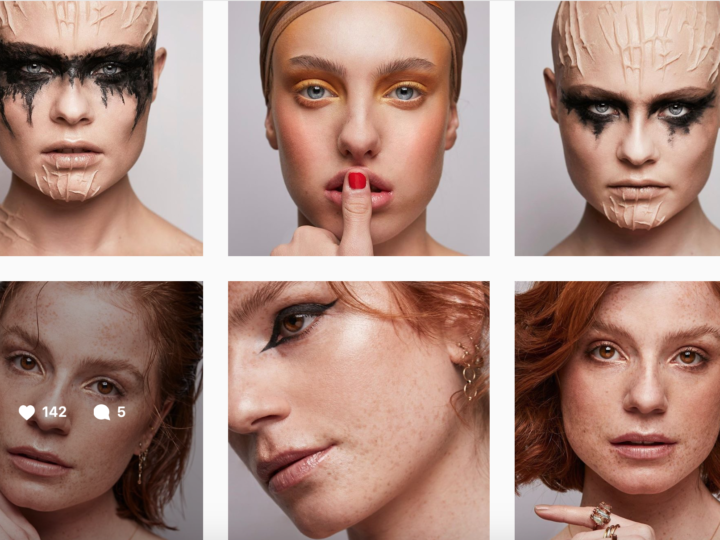 B Academy Make-up: Production shoot